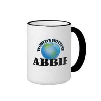 World's Hottest Abbie Ringer Coffee Mug