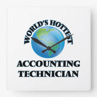 World's Hottest Accounting Technician Wall Clock