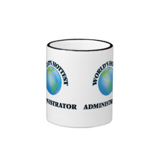 World's Hottest Administrator Ringer Mug