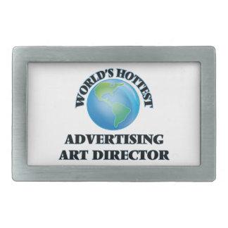 World's Hottest Advertising Art Director Belt Buckle