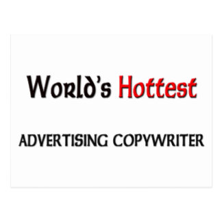 Worlds Hottest Advertising Copywriter Post Cards