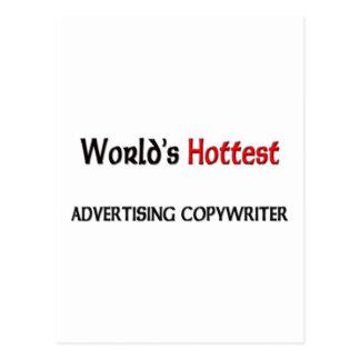 Worlds Hottest Advertising Copywriter Postcards