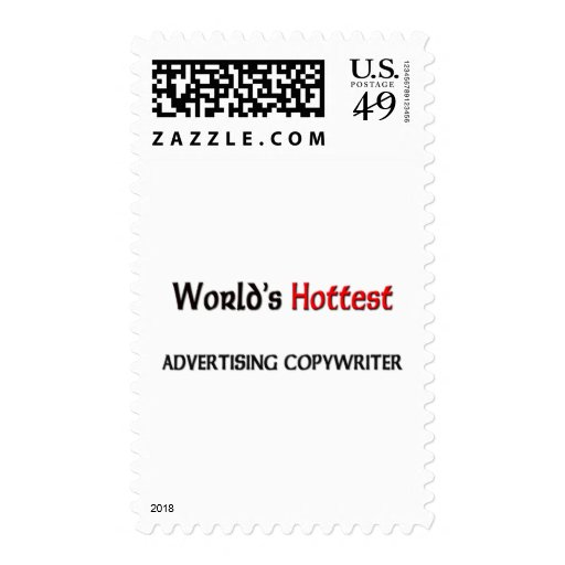 Worlds Hottest Advertising Copywriter Stamps