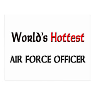 Worlds Hottest Air Force Officer Post Cards