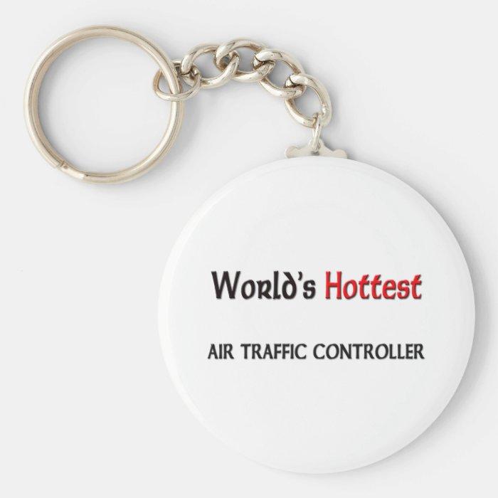 Worlds Hottest Air Traffic Controller Keychain