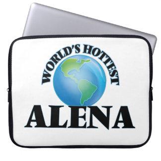 World's Hottest Alena Laptop Computer Sleeve