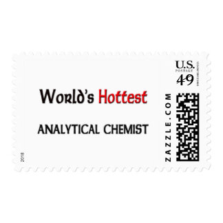 Worlds Hottest Analytical Chemist Postage Stamp