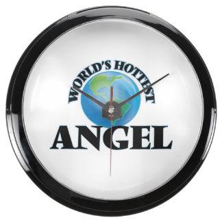 World's Hottest Angel Aquarium Clock