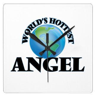 World's Hottest Angel Wall Clocks