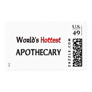 Worlds Hottest Apothecary Postage