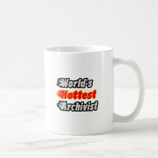 World's Hottest Archivist Coffee Mug