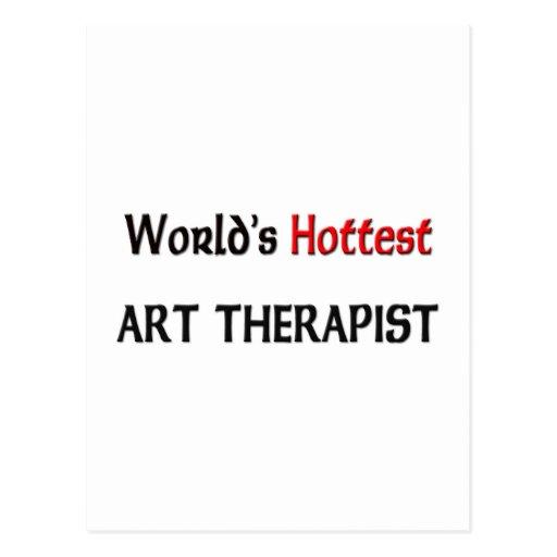 Worlds Hottest Art Therapist Postcards