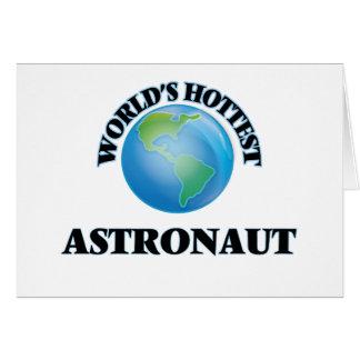 World's Hottest Astronaut Card