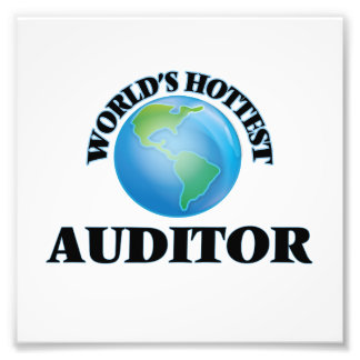 World's Hottest Auditor Photograph