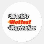 World's Hottest Australian Stickers