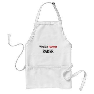 Worlds Hottest Baker Adult Apron