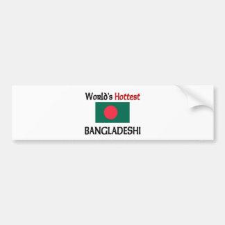 World's Hottest Bangladeshi Car Bumper Sticker