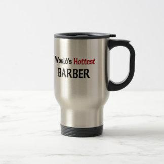 Worlds Hottest Barber Coffee Mugs