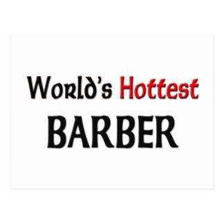 Worlds Hottest Barber Post Cards