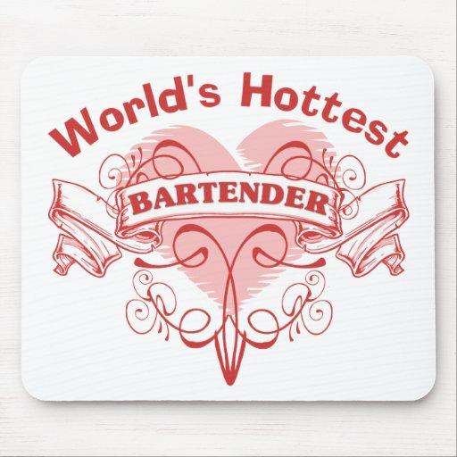 World's Hottest Bartender Mousepad