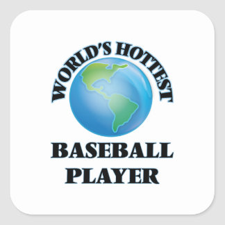 World's Hottest Baseball Player Stickers