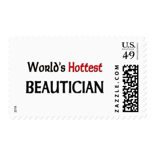 Worlds Hottest Beautician Stamps