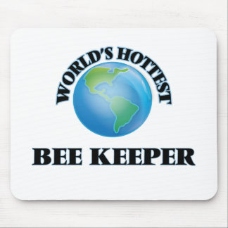 World's Hottest Bee Keeper Mousepad