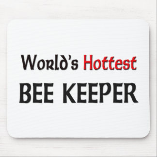 Worlds Hottest Bee Keeper Mouse Pads