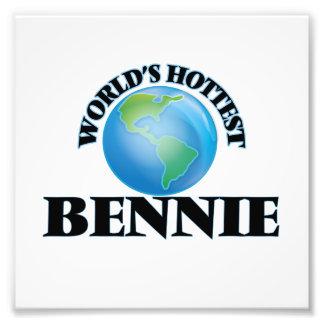 World's Hottest Bennie Art Photo