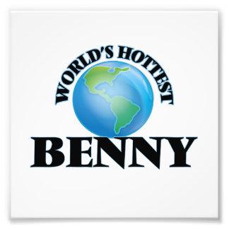 World's Hottest Benny Photo Art