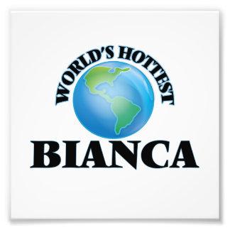 World's Hottest Bianca Photo Print
