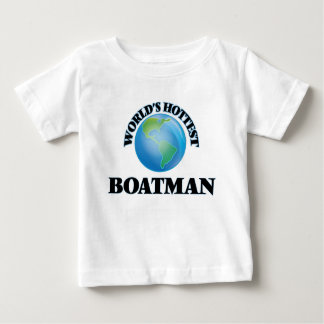 World's Hottest Boatman Tees