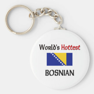 World's Hottest Bosnian Keychain