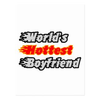 World's Hottest Boyfriend Postcard
