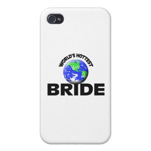 World's Hottest Bride iPhone 4 Cover