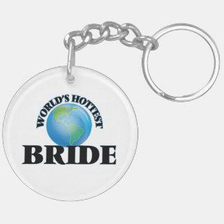 World's Hottest Bride Key Chain