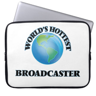 World's Hottest Broadcaster Laptop Sleeve