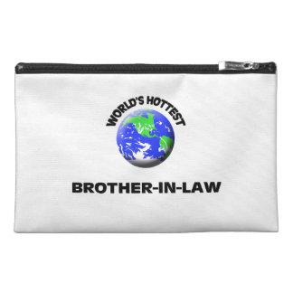 World's Hottest Brother-In-Law Travel Accessory Bag