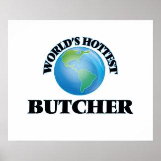 World's Hottest Butcher Print