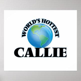 World's Hottest Callie Print