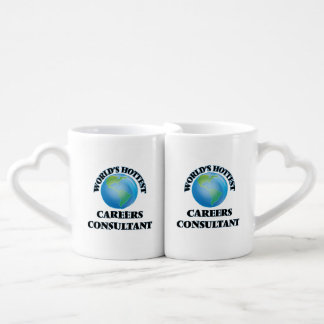 World's Hottest Careers Consultant Couples' Coffee Mug Set