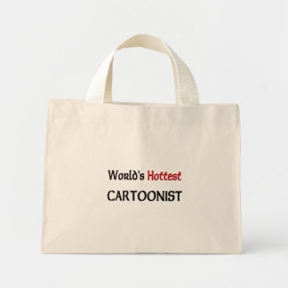 Worlds Hottest Cartoonist Mini Tote Bag