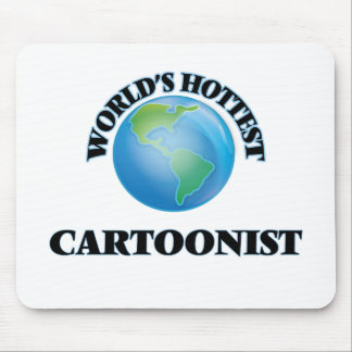World's Hottest Cartoonist Mouse Pad