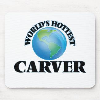 World's Hottest Carver Mousepad