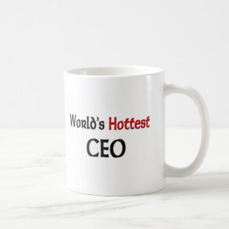 Worlds Hottest Ceo Coffee Mug