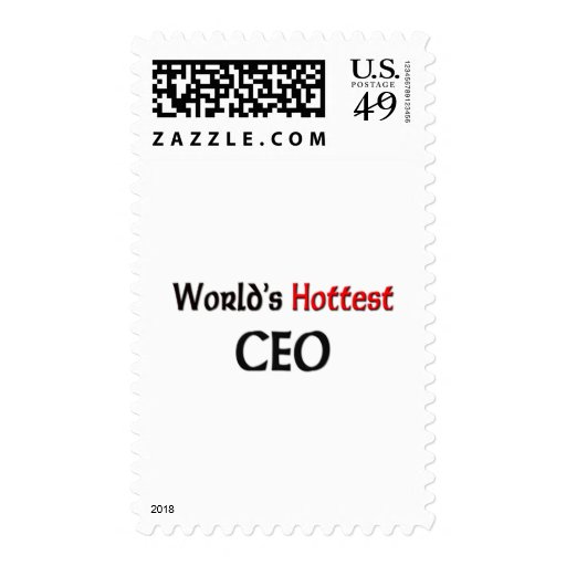 Worlds Hottest Ceo Stamp