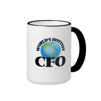 World's Hottest Cfo Ringer Coffee Mug