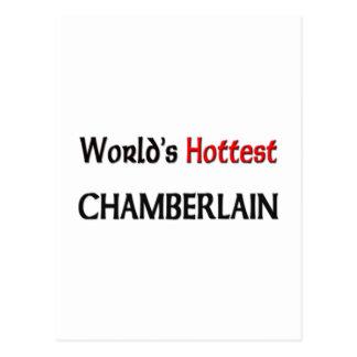Worlds Hottest Chamberlain Postcard