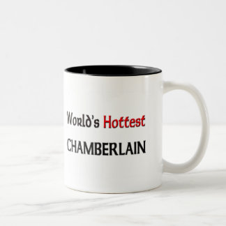 Worlds Hottest Chamberlain Two-Tone Coffee Mug