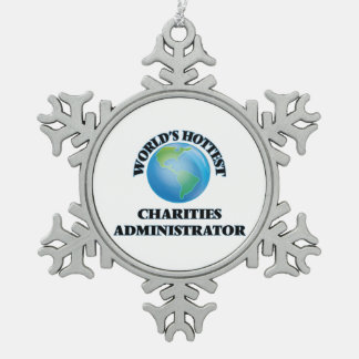 World's Hottest Charities Administrator Ornaments